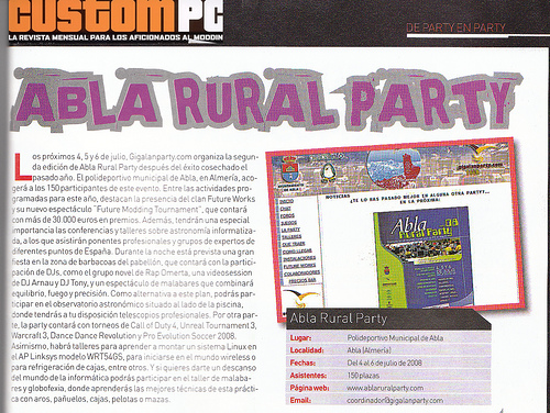 Abla rural party custompc